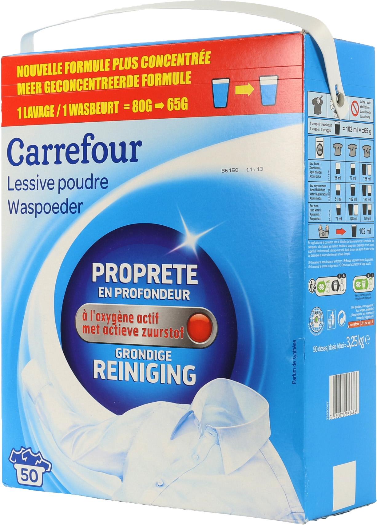 An Lisis De Carrefour Limpieza En Profundidad Polvo Comparador  ~ Mejor Detergente Lavadora Calidad Precio