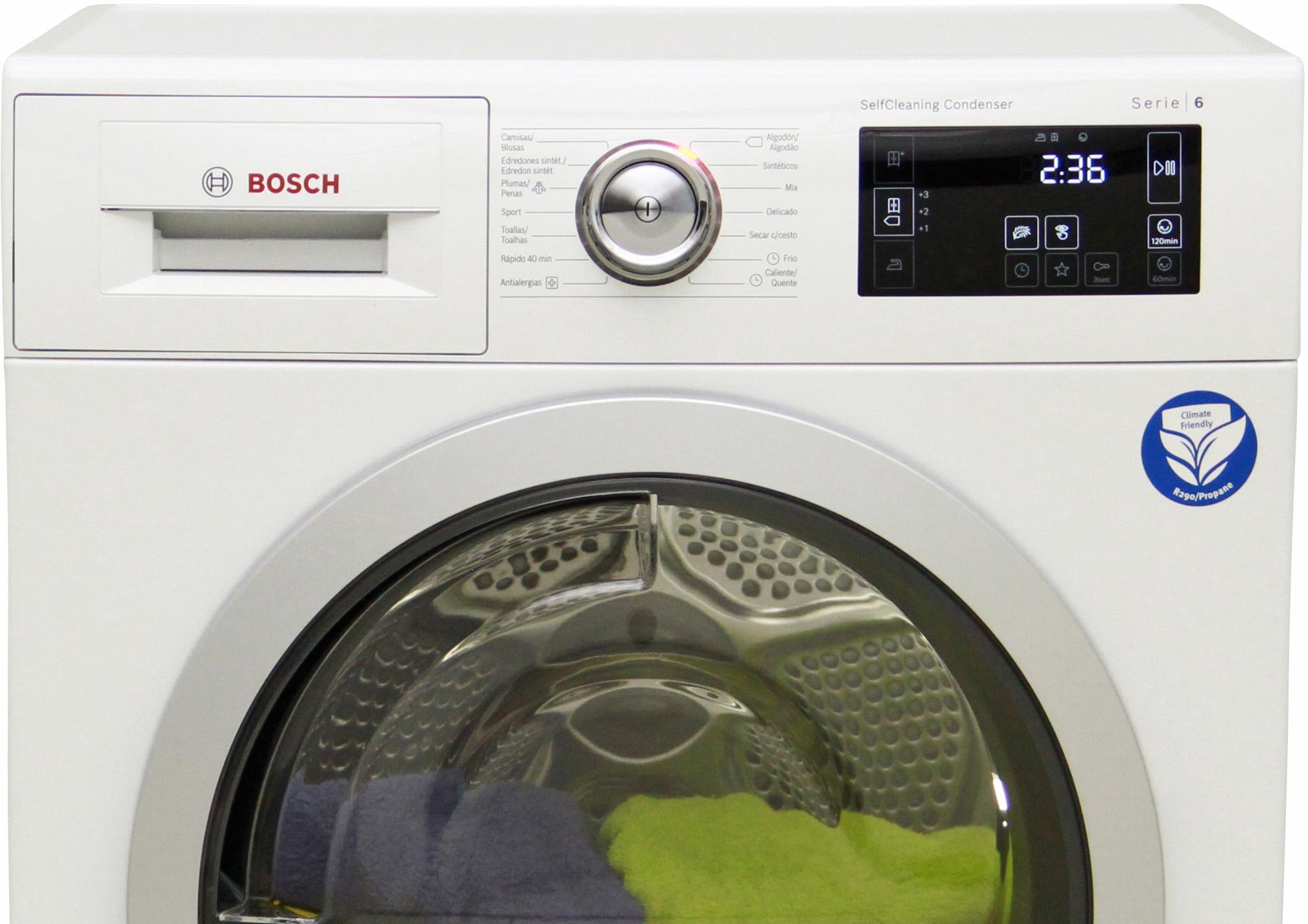 Analisis De Bosch Wtw87640es Comparador De Secadoras Ocu