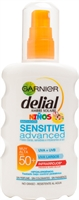 GARNIER DELIAL Niños Sensitive Advanced 50+ Infrarrojos, Spray