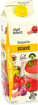 CHEF SELECT (LIDL) Gazpacho suave