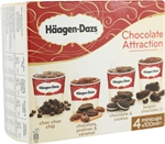 HÄAGEN-DAZS Chocolate Attraction Chocolate, pralines and caramel | Comparador Nutricional -análisis de los alimentos| OCU
