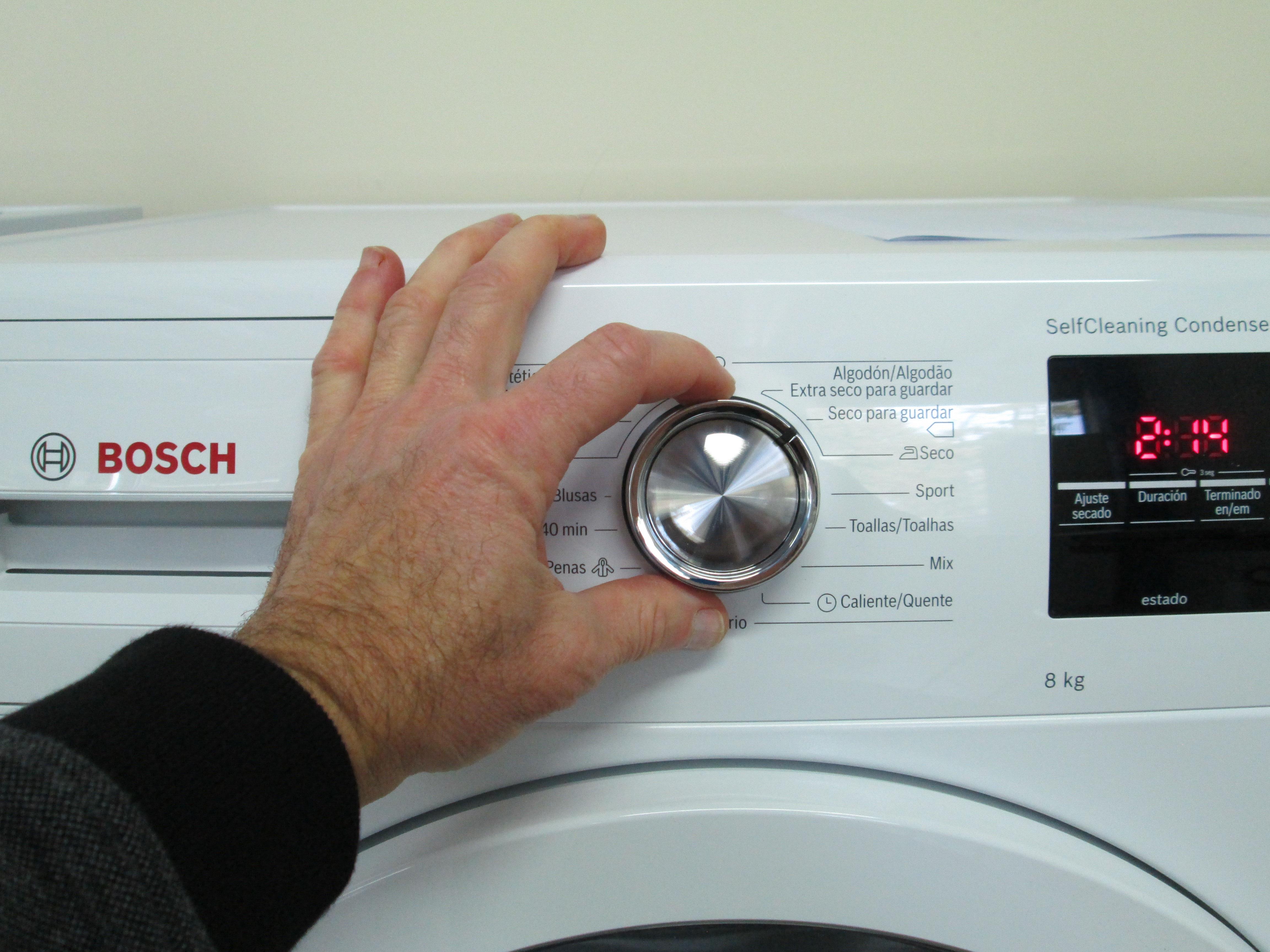 Analisis De Bosch Wtg87238ee 05 Comparador De Secadoras Ocu