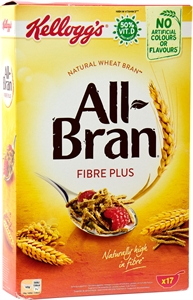 KELLOGG'S ALL-BRAN FIBRE PLUS. | Test y Opiniones KELLOGG'S ALL-BRAN FIBRE PLUS. | OCU