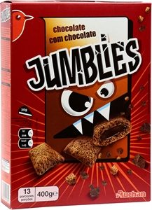 AUCHAN (ALCAMPO) JUMBLIES CHOCOLATE. | Test y Opiniones AUCHAN (ALCAMPO) JUMBLIES CHOCOLATE. | OCU