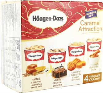 HÄAGEN-DAZS CARAMEL ATTRACTION CARAMEL BISCUIT AND CREAM | Test y Opiniones HÄAGEN-DAZS CARAMEL ATTRACTION CARAMEL BISCUIT AND CREAM | OCU