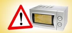 Microondas que queman: ¡evítalos!