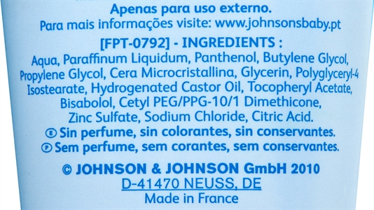 JOHNSONS BABY Crema regeneradora | Test y Opiniones JOHNSONS BABY Crema regeneradora | OCU