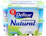 DELISSE (E. LECLERC) Yogur natural