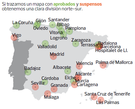 Las Mejores Y Peores Ciudades Para Vivir En España El Blog De