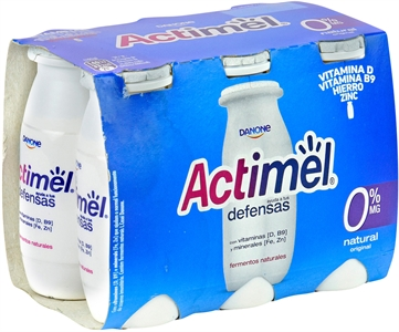 ACTIMEL (DANONE) NATURAL 0% MG. | Test y Opiniones ACTIMEL (DANONE) NATURAL 0% MG. | OCU