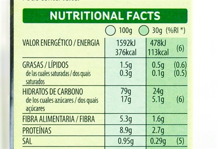 KELLOGG'S SPECIAL K RED FRUITS. | Valor nutricional de  KELLOGG'S SPECIAL K RED FRUITS. | OCU