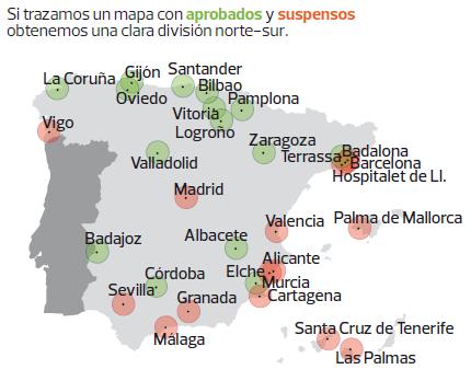 Las mejores y peores ciudades para vivir en espa a el blog de - Mejor sitio para vivir en espana ...